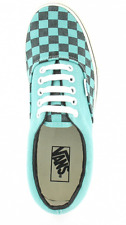 VANS Era Mens Washed Checker Canvas Skate Shoes (VN-0 QFK6GT) - Pool