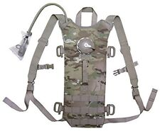 US MOLLE II Multicam Hydration System Carrier + 100 oz 3L Bladder Bag Back Pack