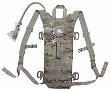 US MOLLE II Multicam Hydration System Carrier / 100 oz 3L Bladder Bag Back Pack