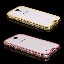 Luxury Bumper for Samsung Galaxy Apple iPhone Protective Pouch Cover Case B
