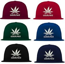 Original Schwarzmarkt Addicted 5 Panel Snapback Cap bulls kings obey dope b610