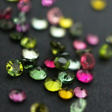 3mm to 6mm Natural Multi Tourmaline Round Cut Calibrated Size Loose Gemstone