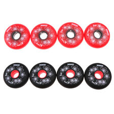 4Pcs Inline Roller Hockey Fitness Skate Replacement Wheel 84A 72mm/76mm/80mm