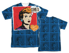 """I Love Lucy """"OMG"""" Dye Sublimation T-Shirt"""