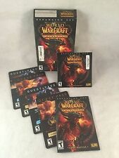 World of Warcraft Cataclysm Expansion Set - Game CD-ROM, Manual & Guest Passes