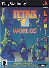 Tetris Worlds (Sony PlayStation 2, 2002) PS2 Game Complete