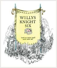 Willys Knight Six Stunning Castle And Knights Poster