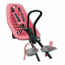 """QUALITY BIKE CHILD SEAT FRONT MOUNT YEPP MINI PINK MAX WEIGHT 15kg """"Ahead"""" ONLY"""