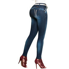 Authentic Colombian Push Up Jeans Colombianos Jeans Levanta Cola Stretch Skinny