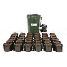 IWS FLOOD AND DRAIN STANDARD 36 POT COMPLETE SYSTEM WITH TANK HYDROPONICS