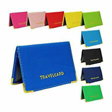 New  Travel Card Oyster Bus Pass Holder Wallet Rail Bank Card Cover