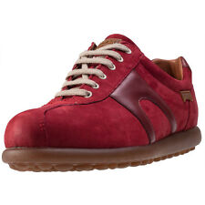 Camper Pelotas Womens Trainers Dark Red New Shoes