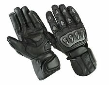 Summer Motorcycle Gloves, Biker Racing Leather motorcycle gloves, Size S-2XL