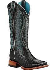 Ariat Women's Vaquera Caiman Belly Cowgirl Boot Square Toe - 10018562