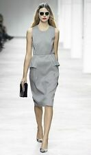 NWT DRIES VAN NOTEN DARILYN 4458 MONOCHROME 100% SILK DRESS  FR 38