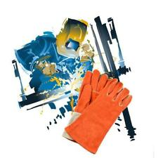 Protective Welding Gloves Cowhide Gloves Welders Gloves Cotton Lined L/XL