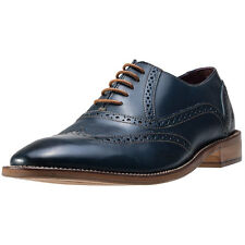 London Brogues George Mens Shoes Navy New Shoes