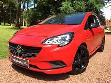 2016 Vauxhall Corsa 1.4 LIMITED EDITION ECOFLEX 3 Door Red With Black Roof And B