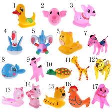 Kids Cute Animals Inflatable Dog Pig Blow Up Toys Thicken Plastic Deer Gifts