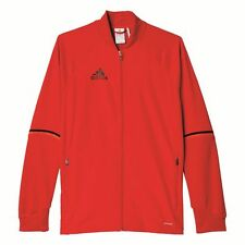 Adidas Football Youth Soccer Condivo 16 Training Jacket Boys Climacool Red ...