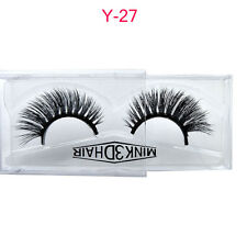 1 Pair Handmade 3D Stereoscopic False Eyelashes Cross Natural Long Lash Makeup