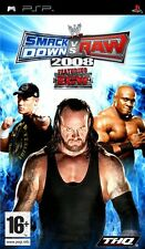 SmackDown Vs Raw 2008 (PSP) VGC With Manual
