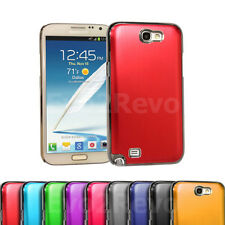 Brushed Aluminium Case Cover Hard Back Shell for Samsung Galaxy Note II N7100