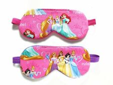 Sleep Eye Mask Disney Princesses Blindfold Shade Girl Kid Slumber Cover Travel