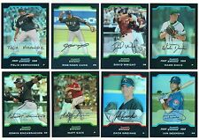 2004 Bowman Chrome Draft REFRACTOR Parallel Single Card BDP1-BDP32 Rookie Ref RC