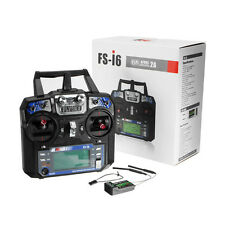 FlySky FS-i6 2.4G 6CH AFHDS RC Transmitter With FS-iA6B Receiver Mode 2
