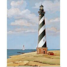 Poster Print Wall Art entitled Cape Hatteras Lighthouse