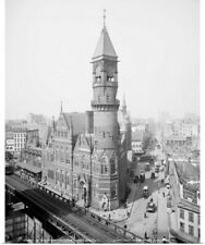 Poster Print Wall Art entitled Jefferson Market Courthouse at 425 Sixth Avenue