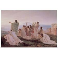 Poster Print Wall Art entitled Pythagoreans' Hymn to the Rising Sun, 1869