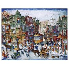 Poster Print Wall Art entitled St. Lawrence Blvd (Montreal)