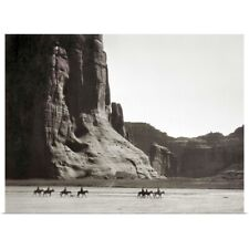 Poster Print Wall Art entitled Canyon De Chelly, 1904