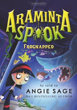 Araminta Spook: Frognapped (Araminta Spook 3), Good Condition Book, Sage, Angie,