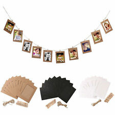Photo Frame Set 10Pcs Pictures Photos Wall Decor Family Album Hanging Display