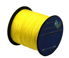 yellow 1000m Super Strong Dyneema Spectra Extreme PE Braided Sea Fishing Line