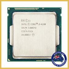 Intel Core i3-4160 LGA 1150 SR1PK Dual Core 3.60GHz 3Mb Haswell 5 GT/s Processor