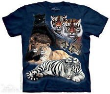 Big Cat Collage T-Shirt from The Mountain - Child S-XL