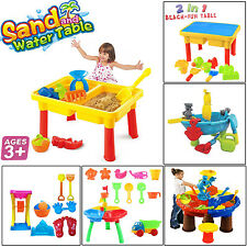 WATER &SAND BEECH KIDS PLAY SANDPIT LEARNING ACTIVITY ACCESSORIES GARDEN TOY SE