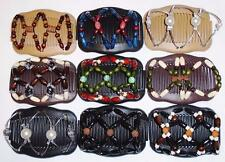 """Double Magic Hair Combs, LRG Butterfly Clips, 4x3.5"""", Angel Wings Clips S21"""