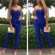 Summer Women Ladies Clubwear Playsuit Bodycon Party Jumpsuit Romper Trousers