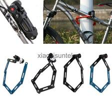 Heavy Duty Folding Bike Bicycle Cycling Steel Chain Lock Password/ with LED Keys