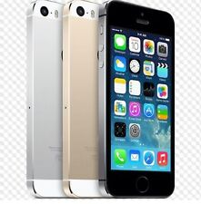 """Apple iPhone 5S- 16 64GB GSM """"Factory Unlocked"""" Smartphone Gold Gray Silver"""