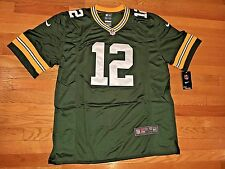 AARON RODGERS #12 GREEN BAY PACKERS NIKE NFL ONFIELD JERSEY SIZE S-5X