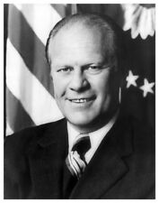 US President Gerald Ford Official White House Portrait 8x10 Silver Halide Photo