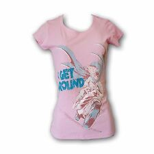 "Bat-Girl ""I Get Around""  Comic Light Pink Color Women's T-Shirt"