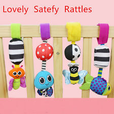 Hot Baby Rattles hanging Bee Wind chimes  Infant Crib Stroller Toy Plush Doll