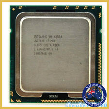 Intel Xeon X5550 LGA 1366 2.66GHz L3 Cache 8MB 8 threads Quad-Cores - Processor